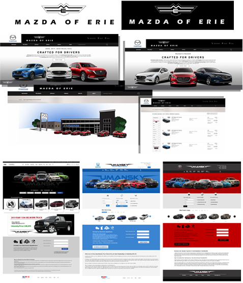 Through automotive marketing, we create & maintain a consistent branding and design for your dealership.